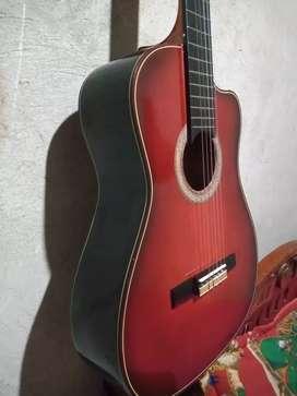Guitarra nueva cero uso con estuche