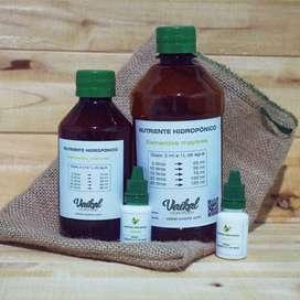 nutriente hidroponico + control biologico