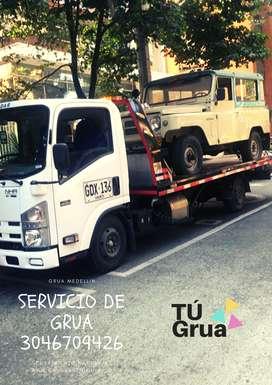 Servicio de Grúa 24 horas Medellin