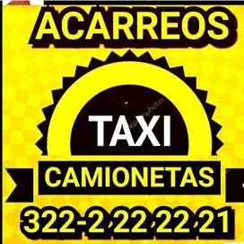 Taxicamionetas acarreos pequeños al instante