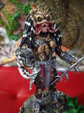Escultura de depredador