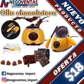 OLLA CHOCOLATERA ELECTRICA
