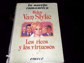 Libro Novela Los Ricos Y Los Virtuosos
