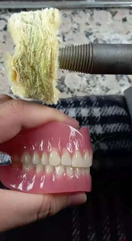 Dentadura dentales acrilicas