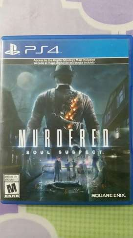 Murdered Soul Suspect Ps4
