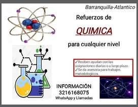 Refuerzos de Química y Metodologícos