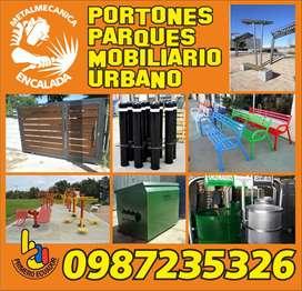 ESTRUCTURAS METALICAS - SOLDADURA - HERRERIA