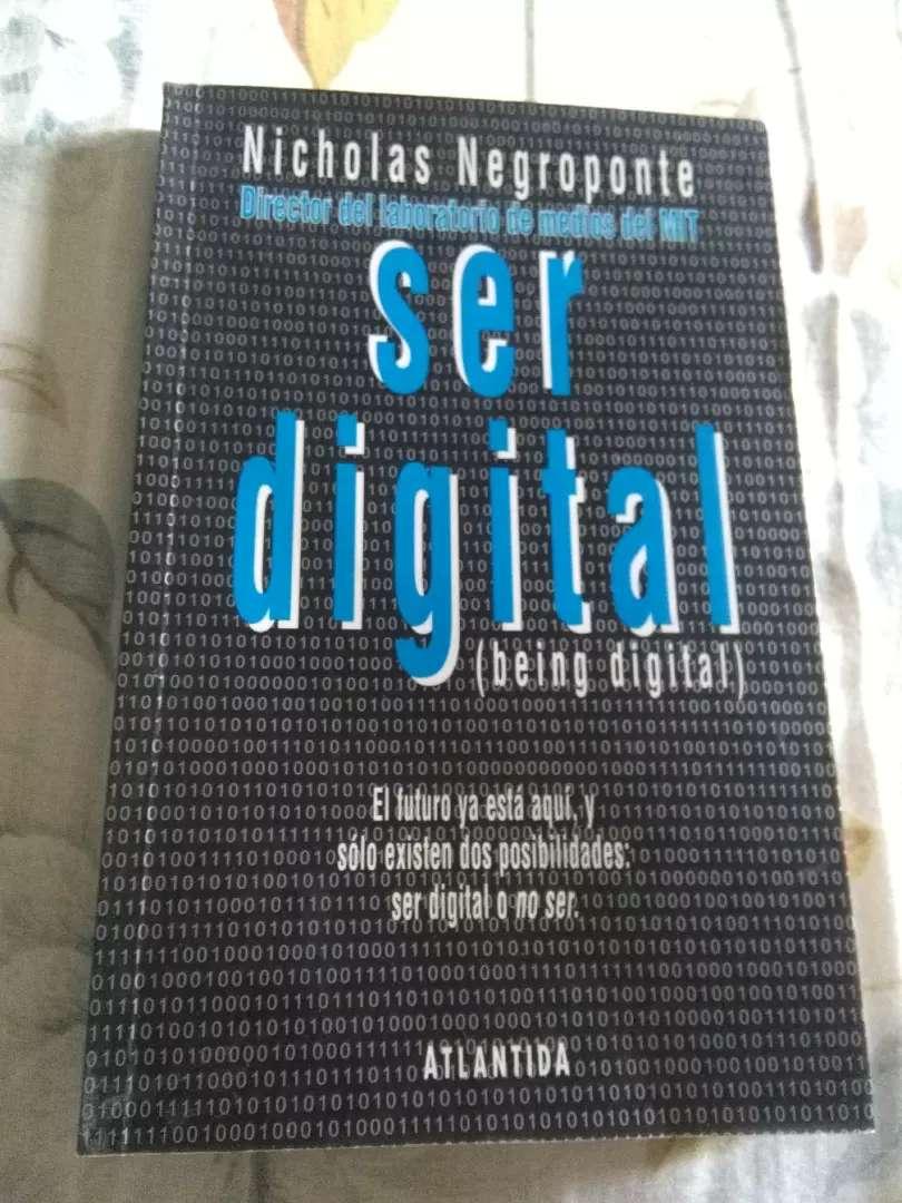 SER DIGITAL . NICHOLAS NEGROPONTE . LIBRO ATLANTIDA 1995 0