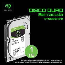 Disco Duro De 1tb Interno Sata Seagate Barracuda