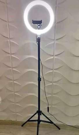 Aro de luz con tripode