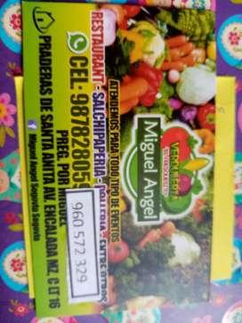 Delivery Verduras a Domicilio