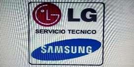 Tecnicos en Televisión LG y SAMSUNG a Domicilio