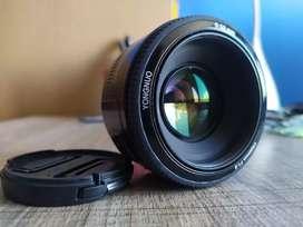 Lente Yongnuo 50mm f1.8 para Canon