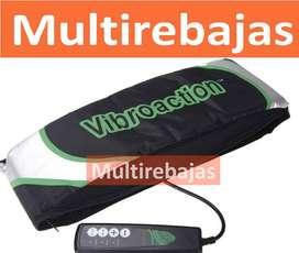 Masajeador Cinturon Adelgazante Vibracion Fitness