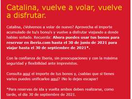 Tiquete Iberia