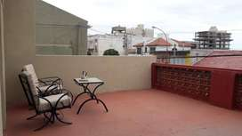 TEMPORADA 2020. Funcional full, cochera y terraza exclusiva, ropa blanca