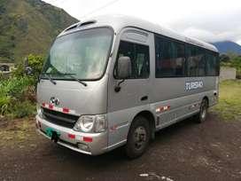 Hyundai county año 2012. turismo