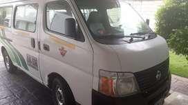 Microbus servicio publico