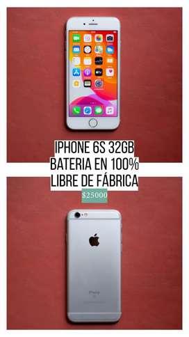IPHONE 6S 32GB - MUY BUEN ESTADO
