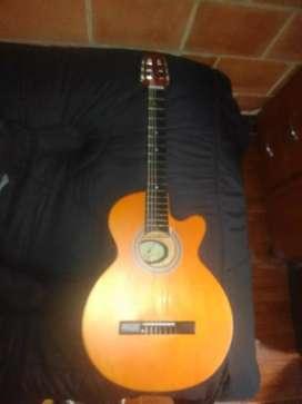 Espectacular guitarra económica $130 negociables