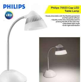 LAMPARA PHILIPS LED DESK LIGHT WHITE(BLANCO) M:70023 NUEVO EN CAJA