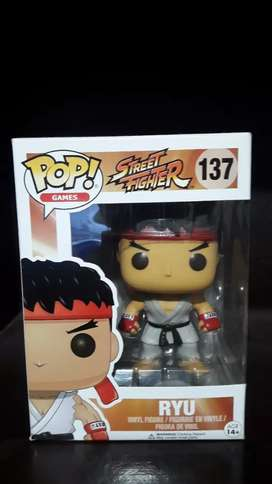 Funko pop (street fighter:RYU)