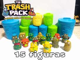 COLECCIÓN 15 FIGURAS (TRASH PACK)