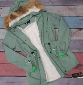 Chaqueta Impermeable Mujer