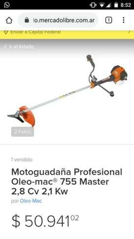Bordeadora Óleo Mac 755. 2.52