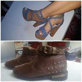 Remate 2x1, botines y sandalias