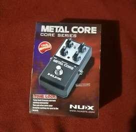 Pedal Análogo Nux metal core