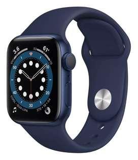 Apple Watch Serie 6 44mm (gps) Azul Azul Marino