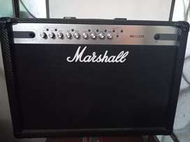 Amplificador Marshall MG102CFX + amplificador Orange Crush Bass 50