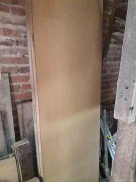 Puertas placas sin marco
