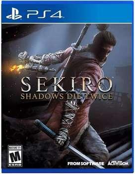 Sekiro Shadows Die Twice Nuevo y Sellado Entrega Ya