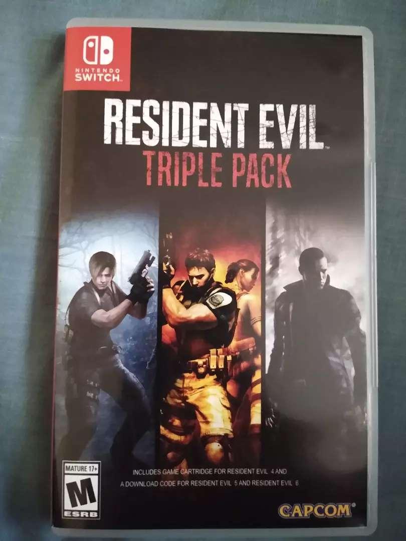 Resident evil 4 en físico switch como nuevo 0