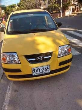 Vendo taxi hiydai atos 2009 único dueño metropolitano
