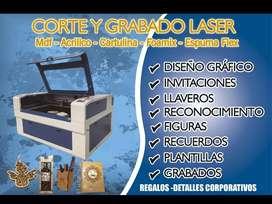 Corte laser y grabado laser