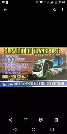 Transporte especial y turismo fuera y dentro de la ciudad