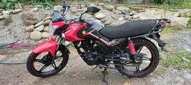 Vendo mi moto marca wanxin 150