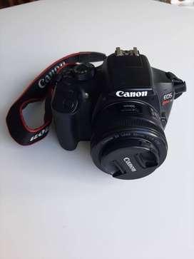 Canon T6 + Lente Canon 50mm 1.8