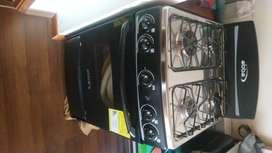 Estufa abba de 4 puestos con horno incluido