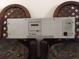 Transmisor FM 250 W. HOMOLOGADO EDINEC - Modelo TXFM-250