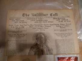 1897 San Francisco Periódico Antiguo