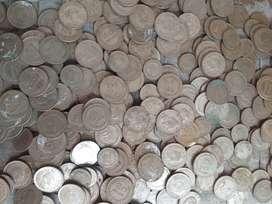 Monedas antiguas negociables..ojo..son 500 monedas