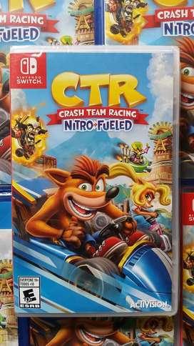 Crash Team Racing Nintendo Switch Stock
