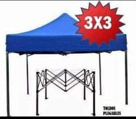 Toldo Plegable  3x3