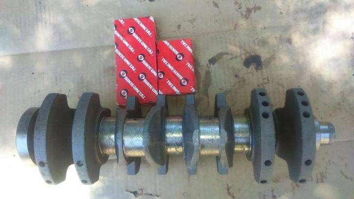 Cigueñal motor AP 2.0 y metales de viela y bancada VW GOL 0