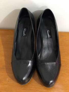 Zapatos formales negros nuevos - Talla 36