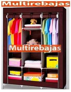 Closet Grande Familiar Con Forro De Tela Varios Colores
